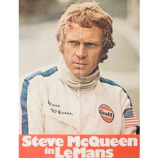 """Le Mans"" Steve McQueen Movie Poster"