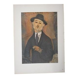 Vintage Ltd. Ed. Modernist Lithograph-Amadeo Modigliani-Folio Size
