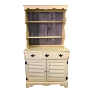 Rustic Wooden China Storage Hutch