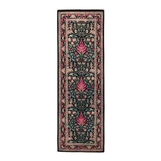"""Eclectic Hand Knotted Runner Rug - 2' 6"""" X 7' 10"""""""