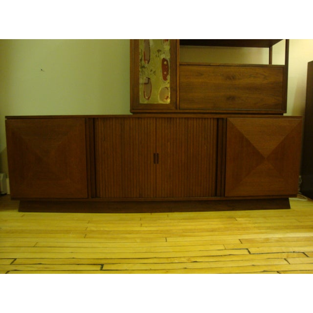 MCM Buffet & China Top With Drop Down Bar - Image 6 of 10