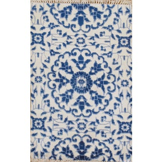 Hand Knotted Modern Silk Rug - 2' X 3'