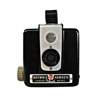 1955 Kodak Brownie Hawkeye Camera