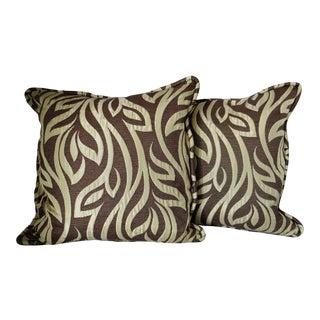 Abstract Contemporary Pillows - a Pair
