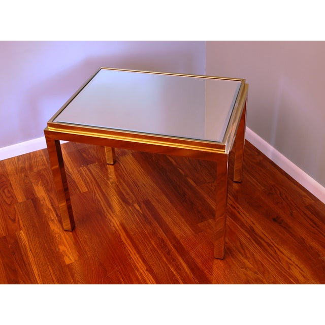 Willy Rizzo Style Occasional Table Chairish