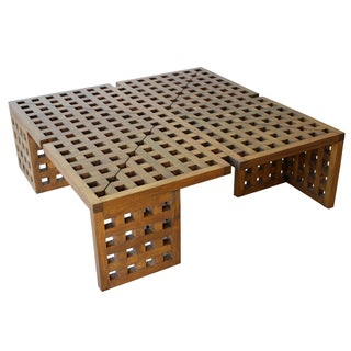 Italian Grid Coffee Table