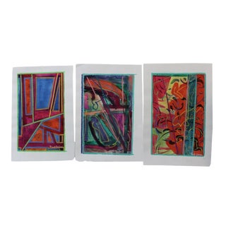 Paul Crimi Vintage Paintings - Set of 3