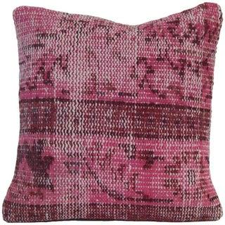 Pink Handmade Kilim Pillow Cover