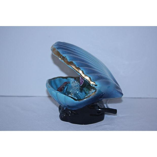 1950s French Vallauris Majolica Lamp - Image 3 of 4