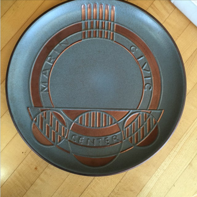 Heath Ceramics Frank Lloyd Wright Plate - Image 2 of 7
