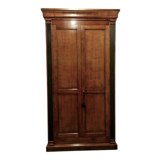 Italian Cherry Wood Armoire