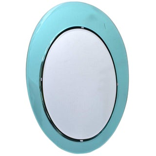 Fontana Arte Wall Mirror attrib. to Max Ingrand