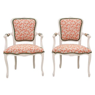 French Provencal Style Fauteuils - A Pair