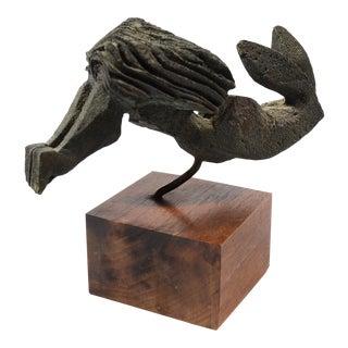 Bronze Female Nude Sculpture By Paolo Soleri