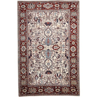 New Serapi Hand Knotted Area Rug - 6' x 9'1""