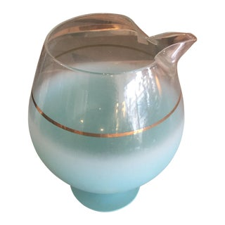 Blendo Turquoise Brandy Pitcher