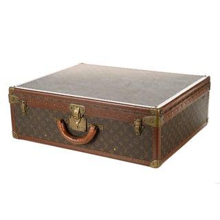 Louis Vuitton Alzer 1960s Vintage Monogram Suitcase