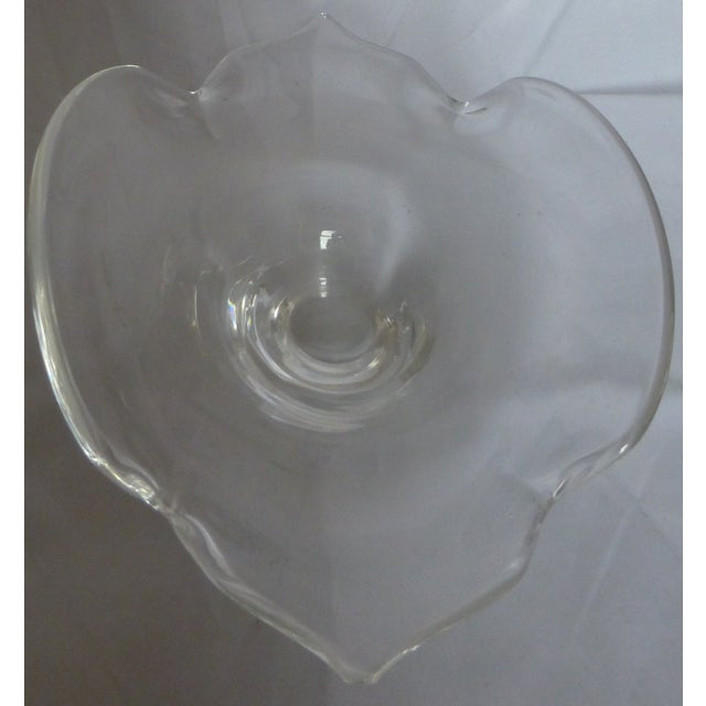 Image of Signed Mid Century Steuben Glass Bowl