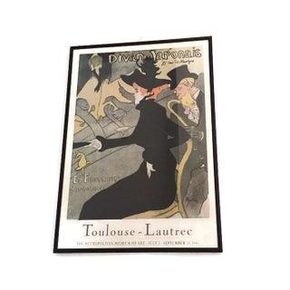 Iconic Vintage Lautrec Met Exhibition Poster