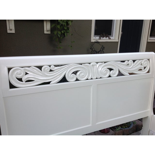 California King Sleigh Bed - Image 5 of 6