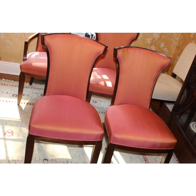 Barbara Barry Realized by Henredon Chairs - Set of 8 - Image 8 of 9