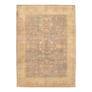 Pasargad N Y Hand-Knotted Khotan Rug -- 9' X 12'7'