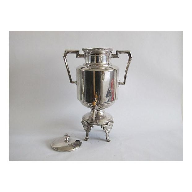 Art Deco Silver Drink Server - Image 6 of 7