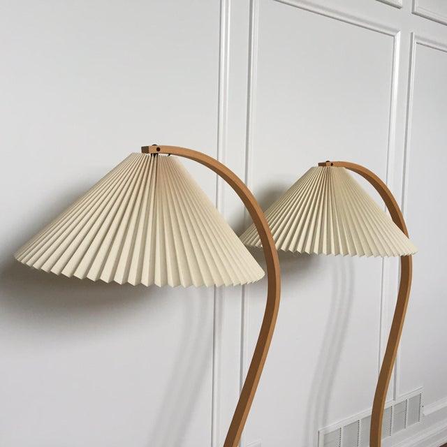 Caprani Standing Lamps A Pair Chairish