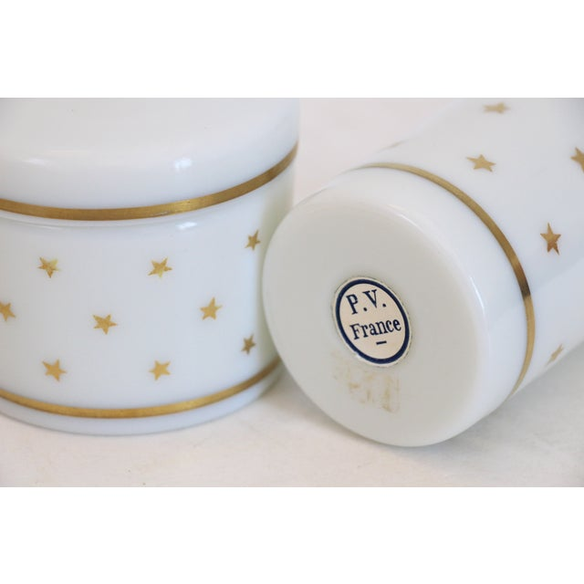 French Portieux Vallerysthal Vanity Set - A Pair - Image 5 of 5