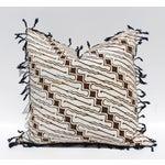 Image of Vintage Batik Pillow with Fringe