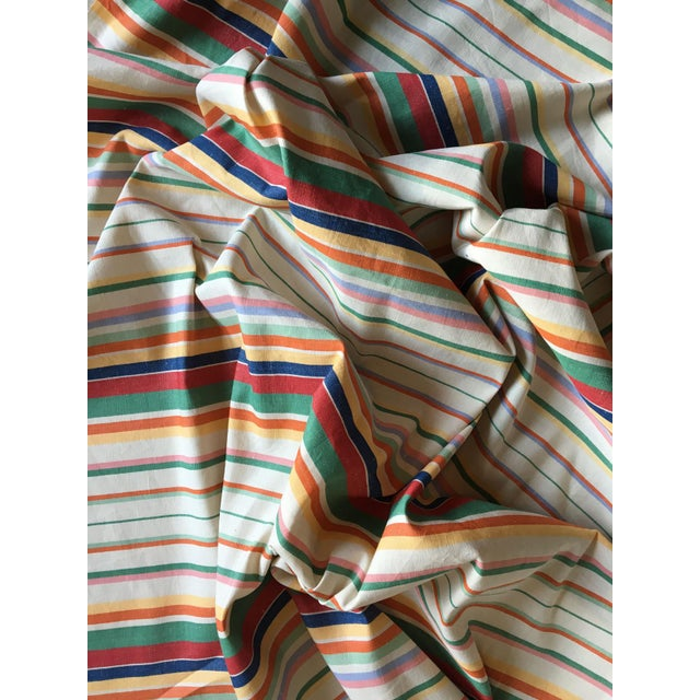 "Ralph Lauren ""Didier Stripe"" Cotton Linen Fabric - Image 3 of 3"