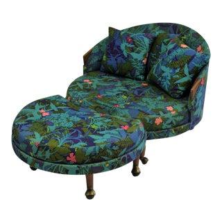 Craft Associates Havana Chair & Ottoman Set by Adrian Pearsall, C. 1960
