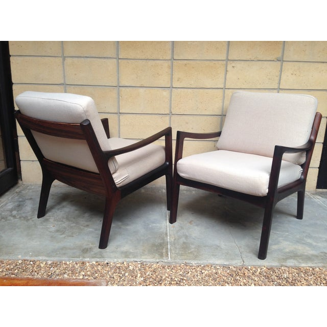 Ole Wanscher Mid-Century Rosewood Chairs - A Pair - Image 5 of 9