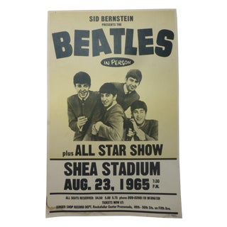 Reproduction Beatles Lobby Card Poster