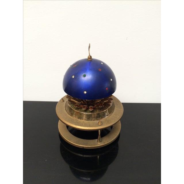 Blue Zodiac Globe Pop-Up Cigarette Holder - Image 5 of 8