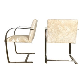 Mies Van Der Rohe for Knoll Brno Chairs - Pair