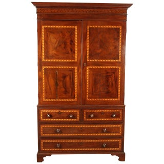 South American Mahogany Linen Press
