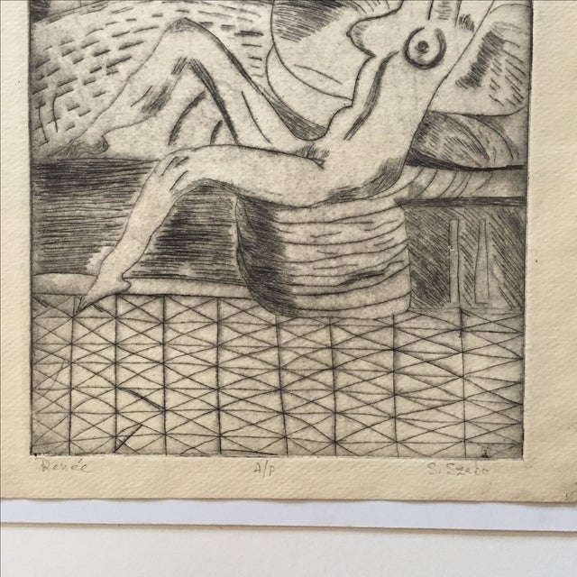 """Lithograph """"Renee"""" by S.Szabo - Image 4 of 10"""