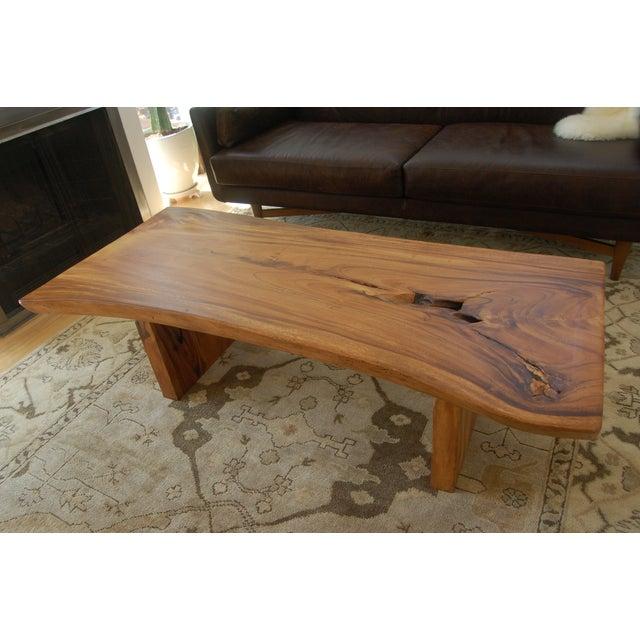 Coffee Table Teak Live Edge: Image Of HD Buttercup Teak Live Edge Coffee Table