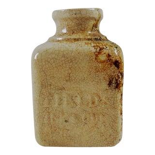 Antique Field's Ink Pottery Bottle