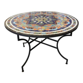 Moroccan Tile Dining Table