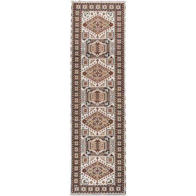 "Apadana - Modern Kazak Rug, 2'10"" x 10'1"" - Image 1 of 5"