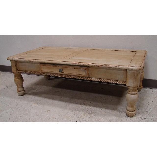 Image of 1 Drawer Tuscan Wash Coffee Table
