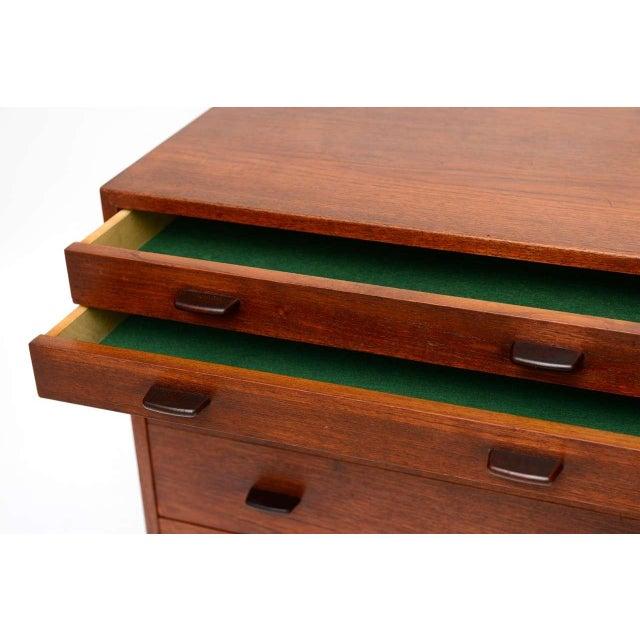 Stellar Hans Wegner Teak Dresser for Ry Mobler/George Tanier - Image 8 of 8