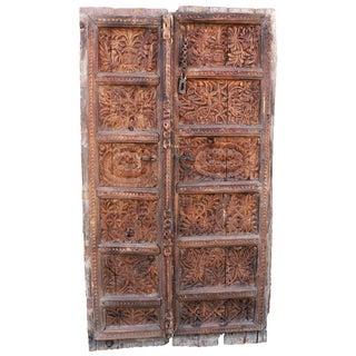Peshwari Carved Door Panel
