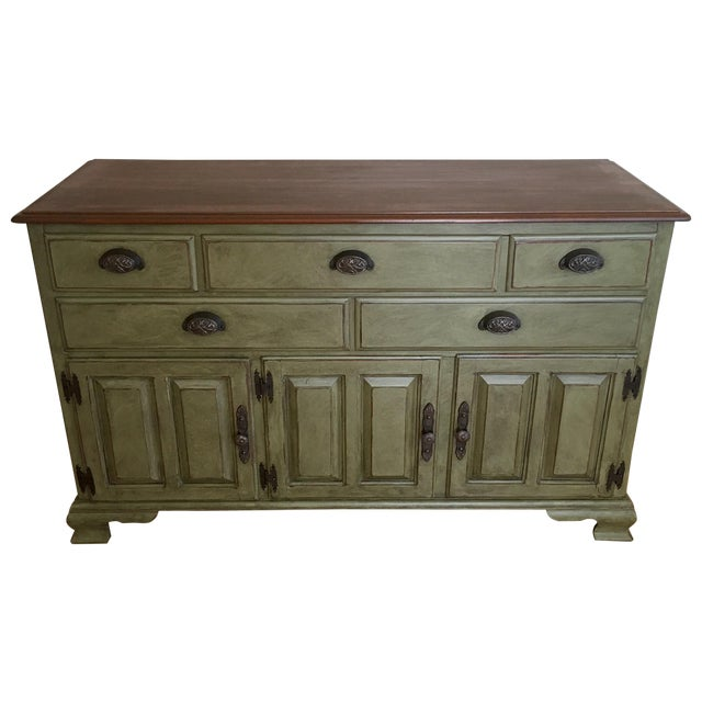 Vintage Solid Wood Kling Buffet - Image 1 of 5