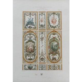 1890 Antique Print, Plate 9
