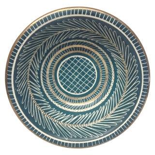 Waylande Gregory Gold Leaf Ceramic Bowl