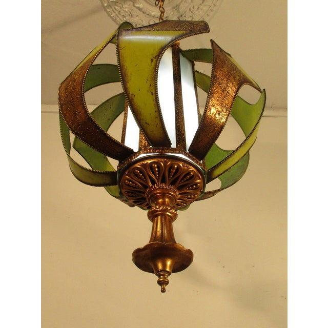 Vintage Classic 1960's Decorative Light Fixture - Image 4 of 6
