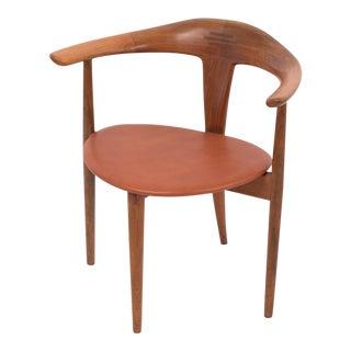 Single Teak Accent Chair by Pelle Pedersen and Erik Andersen for Randers/Moreddi